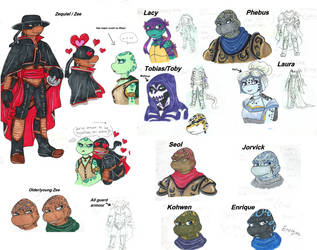 TMNT ocs by Lily-pily