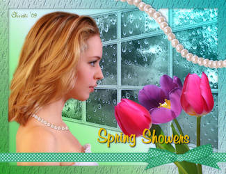 Spring Showers by Christi-Dove