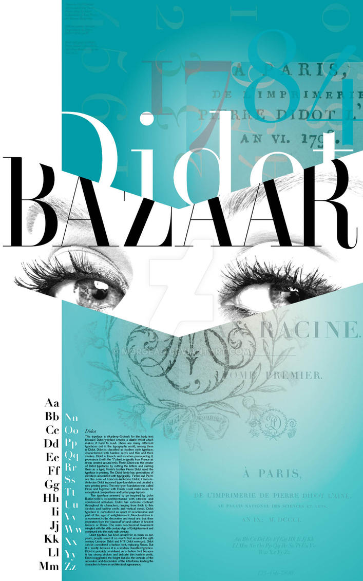 Didot Bazaar by Morgean