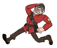 Grunkle Soldier by porthead