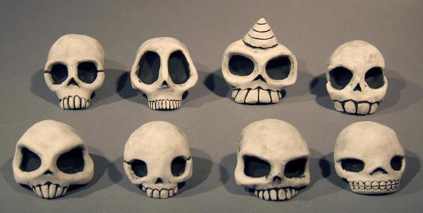 Skulls by mudmonkey
