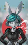 Stern Bunny