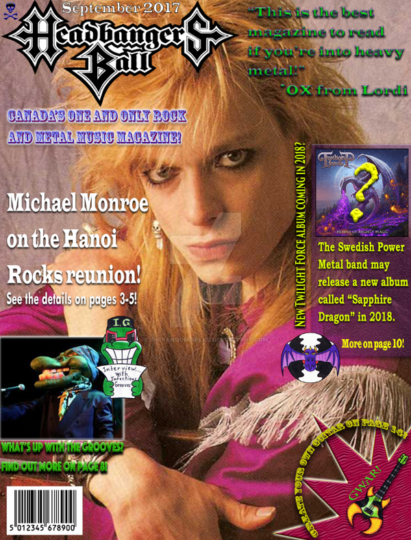 Fan made Rock and Metal music magazine by TheRandomGirlXD on DeviantArt