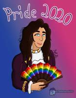 Jean-Pierre Barda (Pride 2020 Art Piece) by TheRandomGirlXD