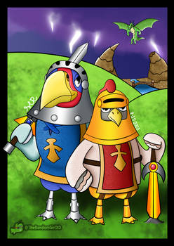 Knox and Sterling (Animal Crossing New Horizons)