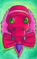 Pink Crocodile (The Masked Singer) by TheRandomGirlXD