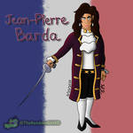 Drawing Jean-Pierre Barda for the 4th time by TheRandomGirlXD