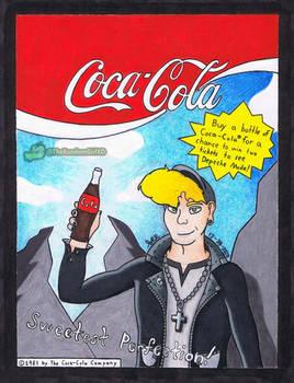 80s Coca Cola ad featuring Martin Gore
