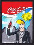 80s Coca Cola ad featuring Martin Gore by TheRandomGirlXD