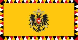 Habsburg War Flag 1848