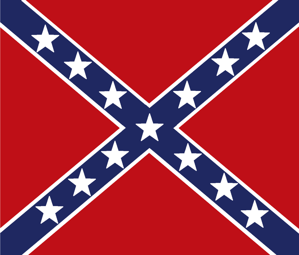 confederacy army flag northern virginia by politicalflags on