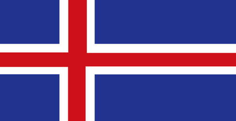 Iceland flag by Politicalflags