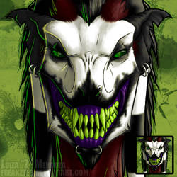 COMMISH: MaliciousDrLunarSama by ZeeMendoza