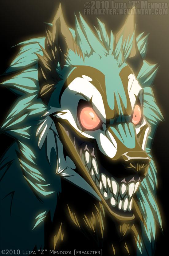 freek as a wolf thing by Freakzter