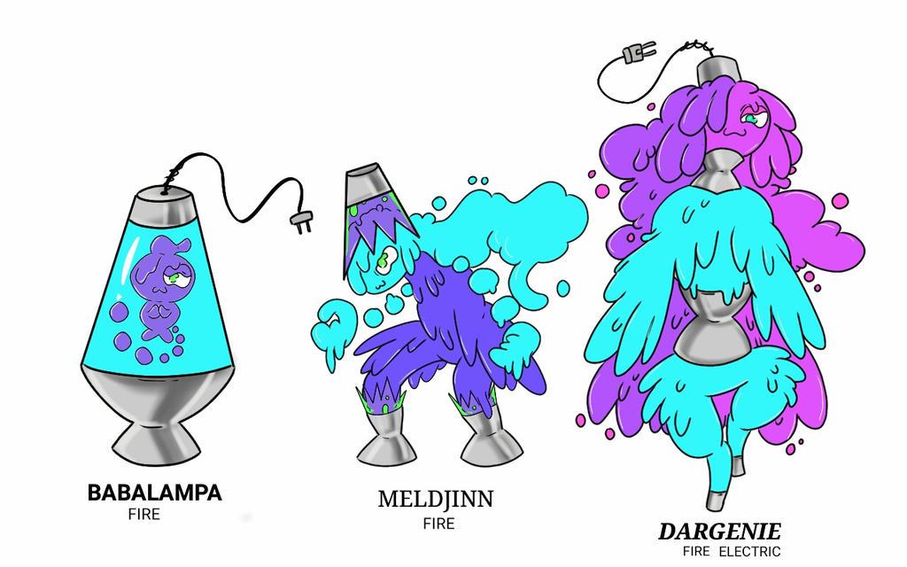The Lava Lamp Pokemon By Mephiles101 On Deviantart