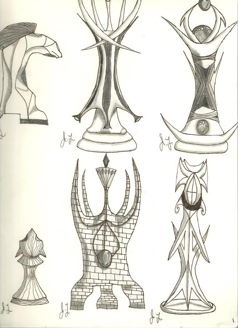Deviantart Com Chess Piece Design