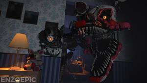 Nightmare in your room.....  [FNAF/SFM]