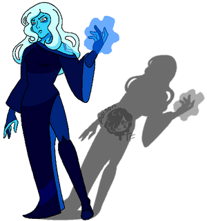 Annpar2009 as Blue Diamond by PoisonTransformer