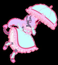 A Pastel Demon Adopt (open) by PoisonTransformer