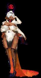 Custom Demonic Nun for Devilishfoxx by PoisonTransformer