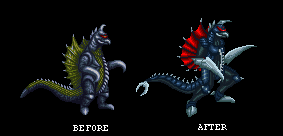 Gigan old and new by crovirus