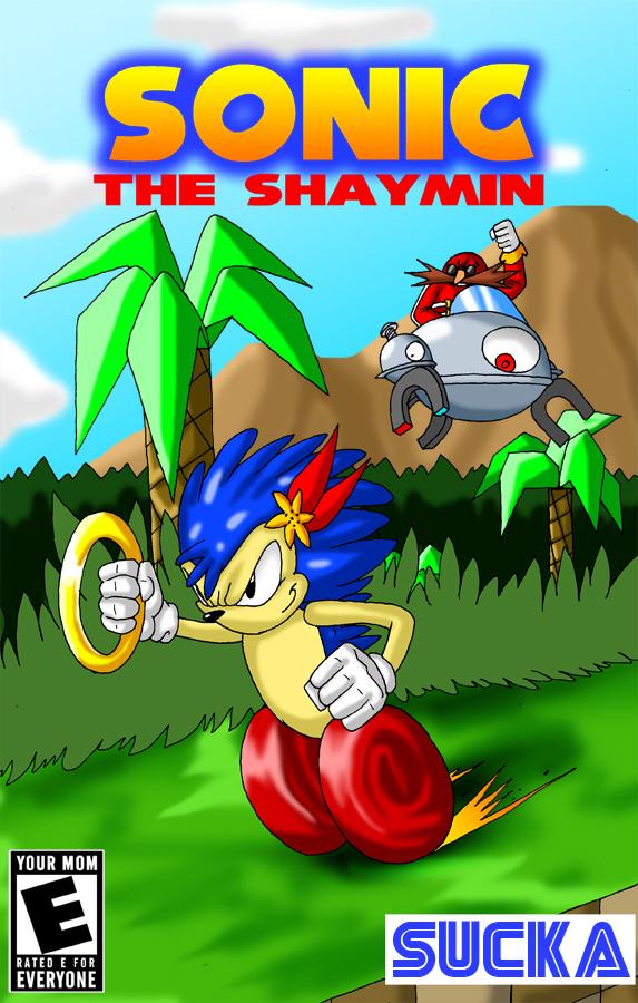 Sonic the Shaymin by crovirus