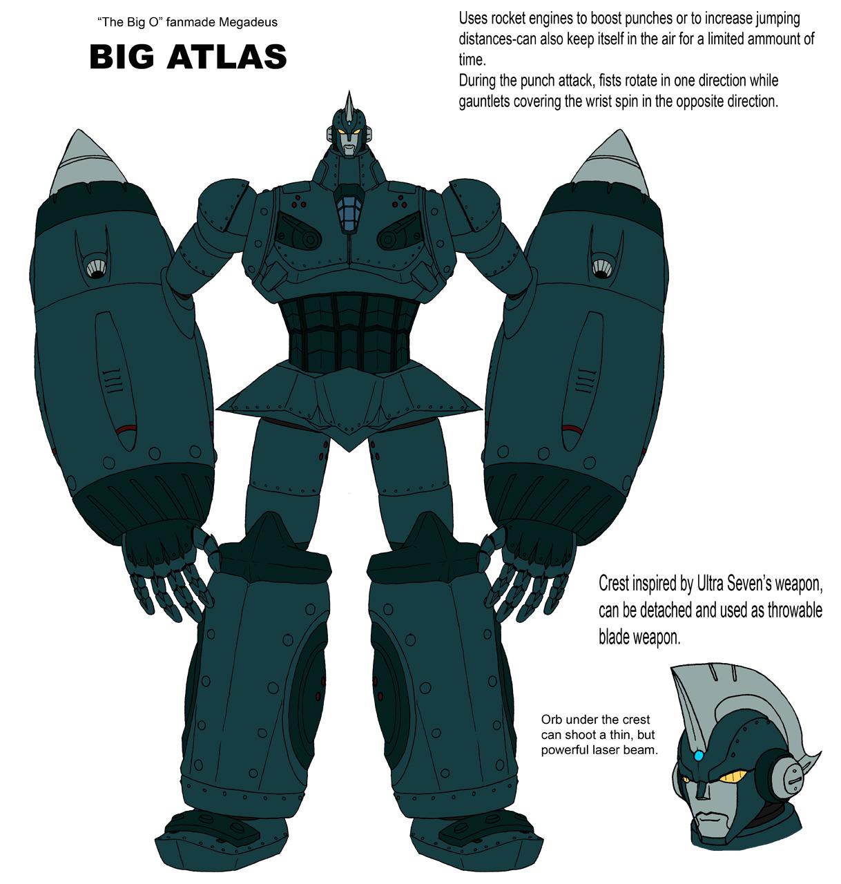 Big Atlas-fanmade megadeus by crovirus