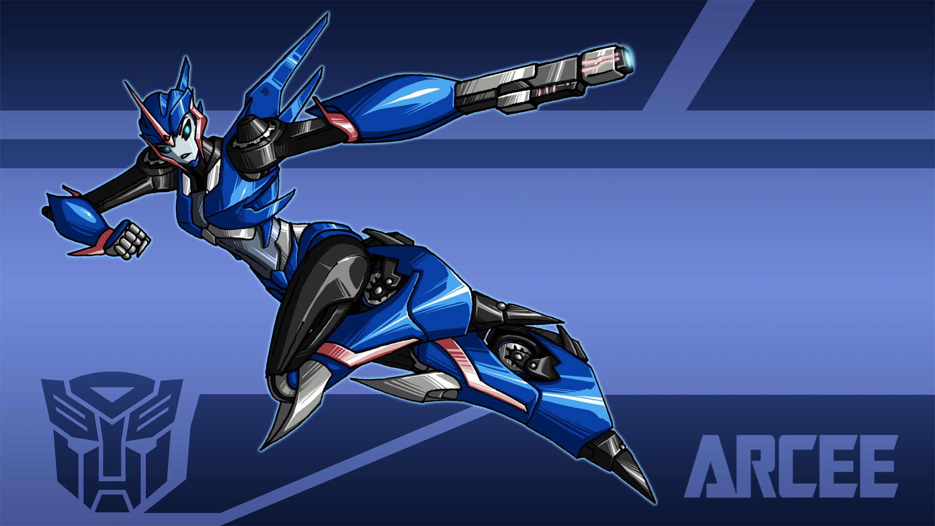 TFP-Arcee wallpaper by crovirus on DeviantArt