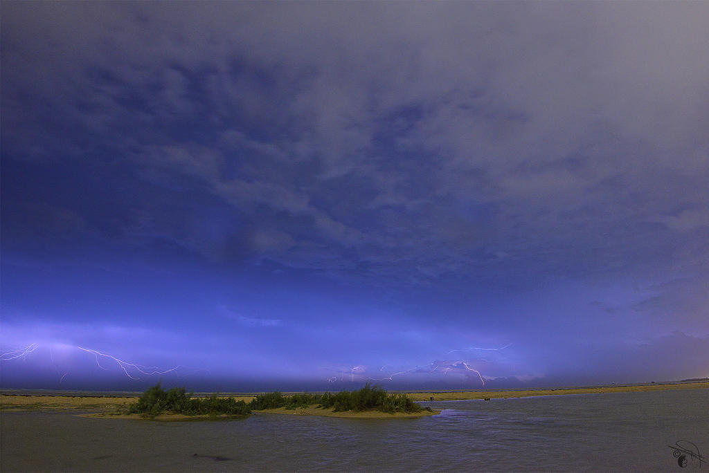 Sky Shocks by Baher-Amin