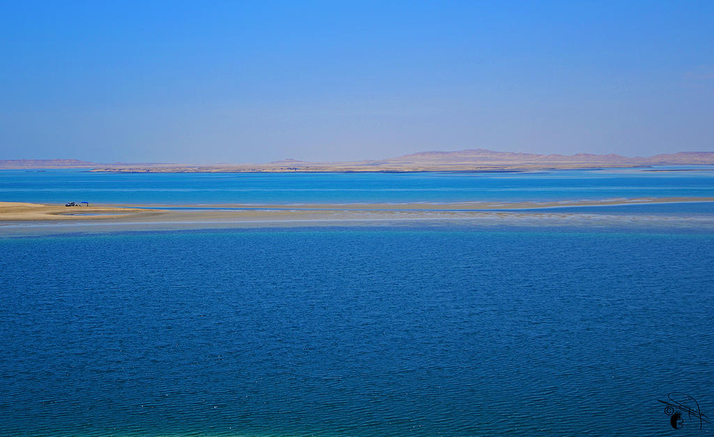Yellow Blue by Baher-Amin