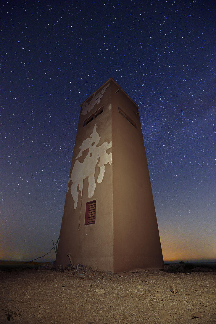 Stars Tower by Baher-Amin