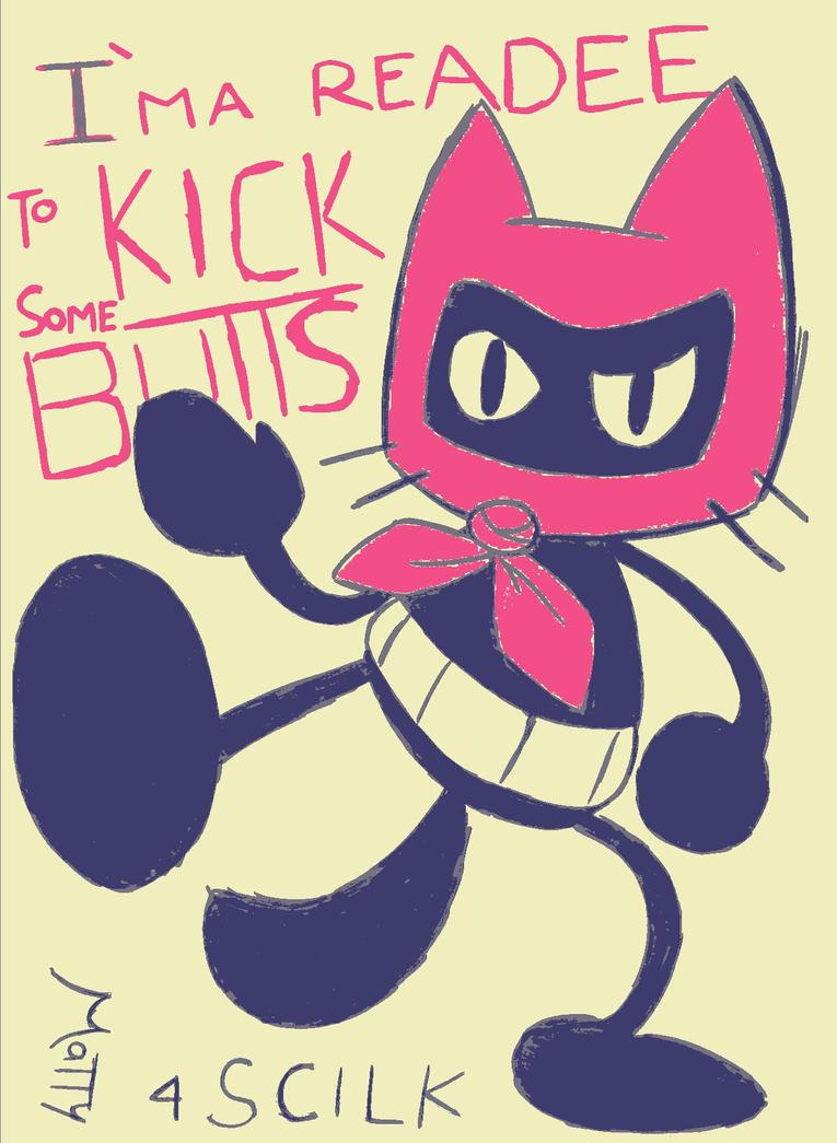 Badass Cattin (character by Scilk) by SuperMattyBros