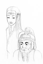 elf and dwarf by nativeEvil