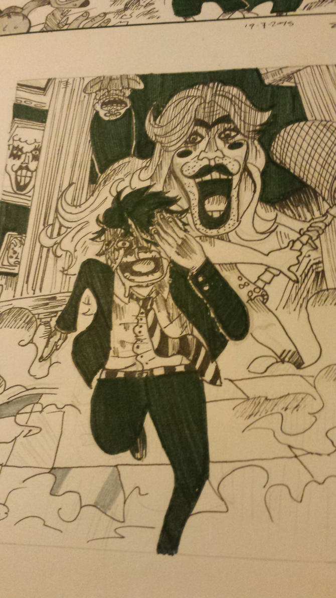 Sanji at the okama kingdom by reallyspecialgirl