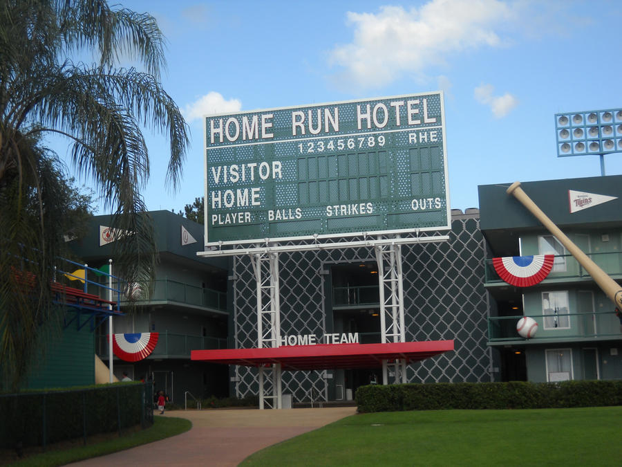 All star sports home run hotel building by magnus8907 on Home run architecture