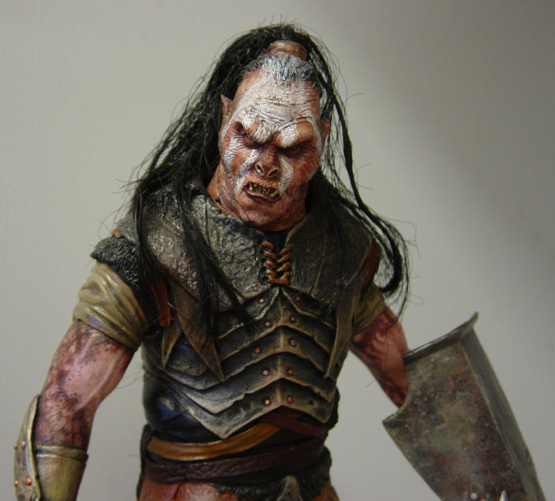 Orc Lord Of The Rings Uruk Hai Uruk-hai maquette by D...
