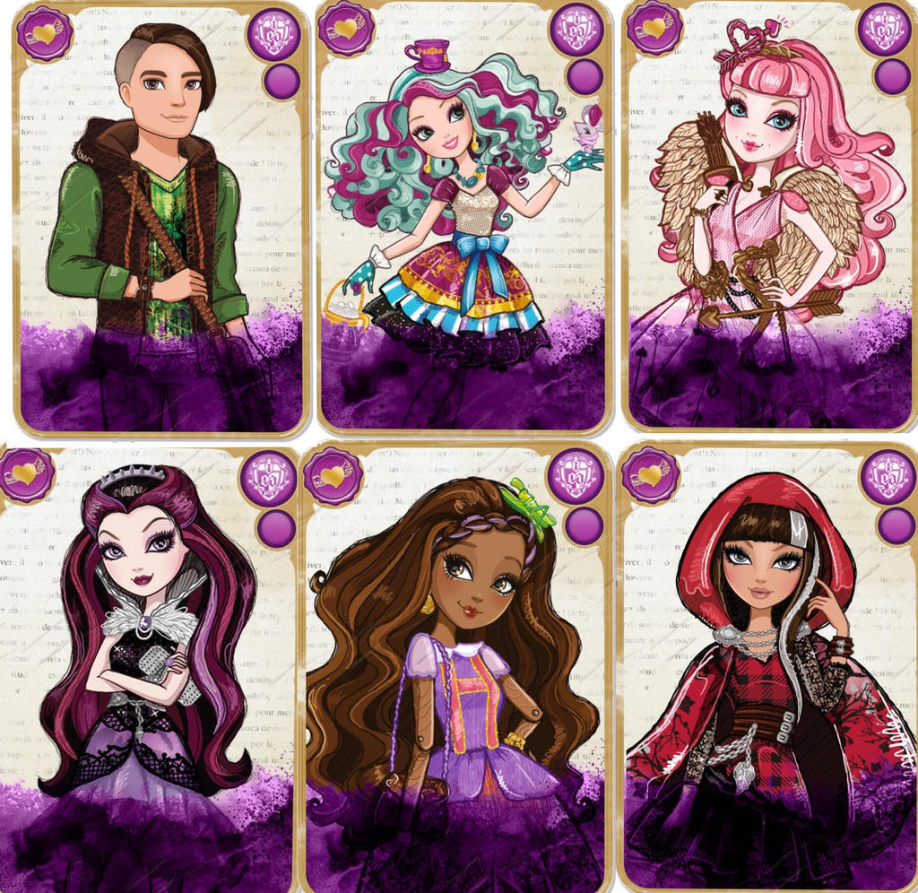 Group Of Ever After High Rebel