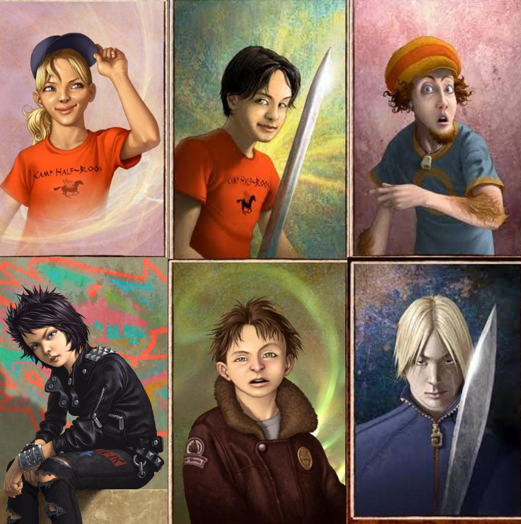 Percy jackson characters by Jazzywazzy101 on DeviantArt