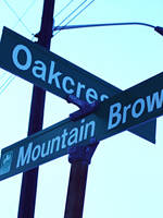 Oakcrest and Mtn Brow Blvd. by crossroadblues