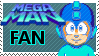 Megaman Fan Stamp (Request) by JamarMcCall