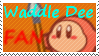 Waddle Dee Fan Stamp by JamarMcCall