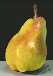 Lyke Omfg LR Drew a Pear O_o by Luthien-Rogue
