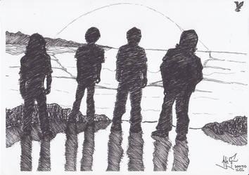 SelamatTinggalDunia silhouette by ayer-online