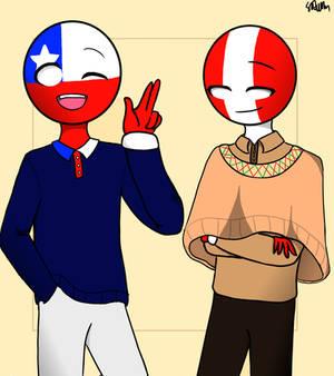 Chile And Peru By Soda Ahn On Deviantart