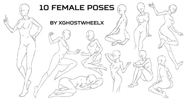 10 female poses
