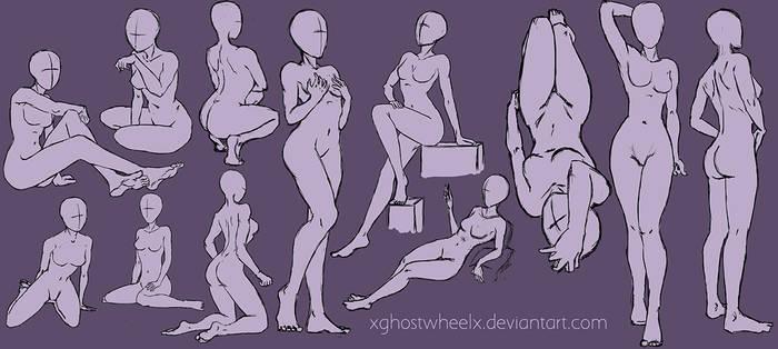 Pose study sketch