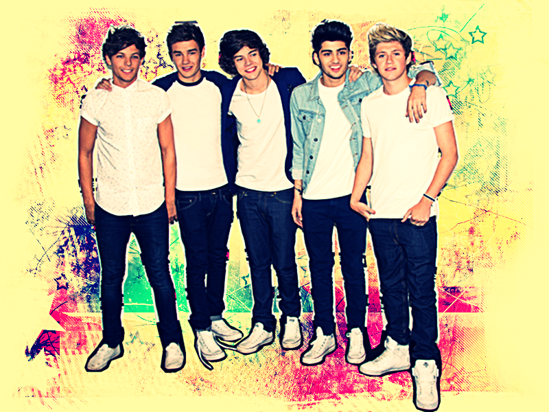 One Direction Wallpaper By Kika1133