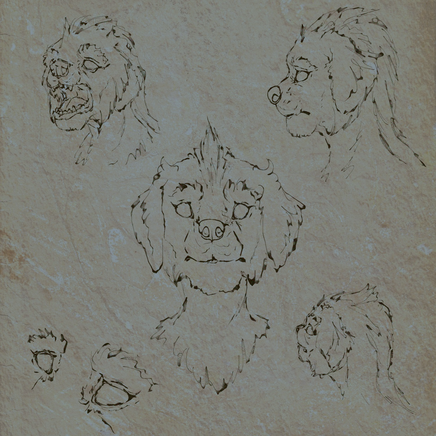 Dralis sketches by DralisVaalsaar