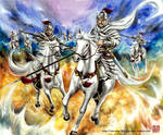 The White Cavalry Army