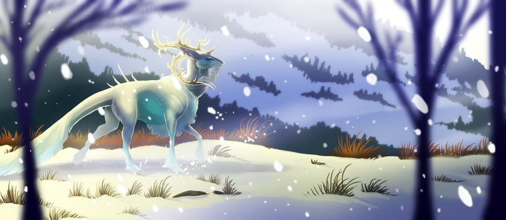 winter's breath by oukamiyoukai45